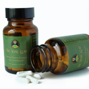 CBDa Hemp Flower Extract Capsules