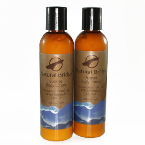 Natural Bridge Hemp Body Lotion