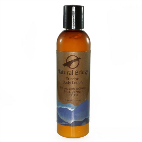 Natural Bridge Hemp Body Lotion Sunrise