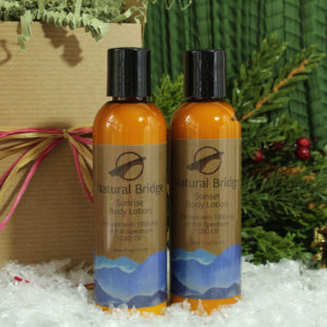 Natural Bridge Hemp Body Lotions Gift Box