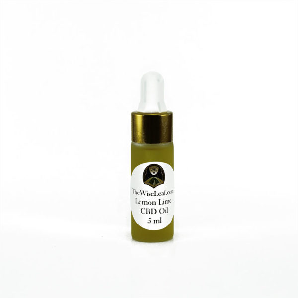 5ml Sample Full Spectrum Hemp Flower CBD Oil Lemon-Lime