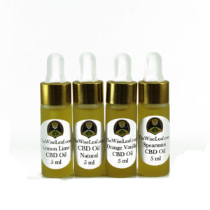 Full Spectrum Hemp Flower CBD Oil 4 Flavor Sampler